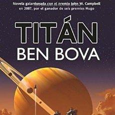Libros de segunda mano: TITÁN, BEN BOVA. Lote 207362686