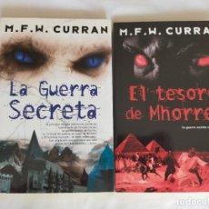 Libros de segunda mano: M. F. W. CURRAN: LA GUERRA SECRETA / EL TESORO DE MHORRER.. Lote 207375928