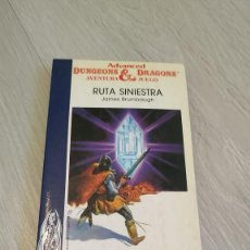 Livres d'occasion: TIMUN MAS - AVENTURA JUEGO - ADVANCED DUNGEONS AND DRAGONS - 13 RUTA SINIESTRA. Lote 207839850
