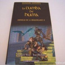 Libros de segunda mano: LA TUMBA DE HUMA CRONICAS DE DRAGONLANCE LL. Lote 207843907