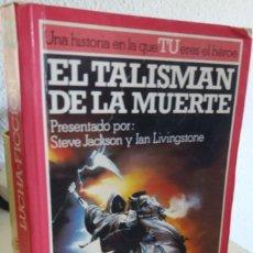 Livres d'occasion: EL TALISMÁN DE LA MUERTE - JACKSON / LIVINGSTONE. Lote 208034871