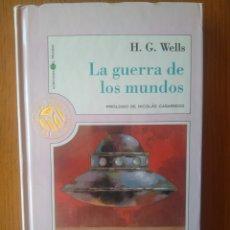 Libros de segunda mano: LA GUERRA DE LOS MUNDOS- H G WELLS- COLECCIÓN MILLENIUM BIBLIOTECA EL MUNDO- CIENCIA FICCIÓN. Lote 209667832