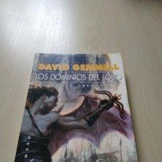 Libri di seconda mano: LOS DOMINIOS DEL LOBO. CICLO DE DRENAI 2 - DAVID GEMMELL. GIGAMESH. Lote 209984013