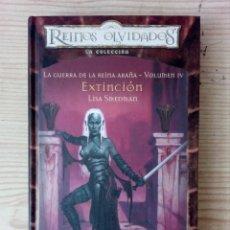 Livres d'occasion: REINOS OLVIDADOS - LA GUERRA DE LA REINA ARAÑA - VOLUMEN IV - TAPA DURA - ALTAYA. Lote 210296257