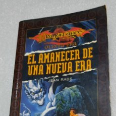 Libri di seconda mano: DRAGONLANCE. EL AMANECER DE UNA NUEVA ERA - JEAN RABE. TIMUN MAS. Lote 210383056