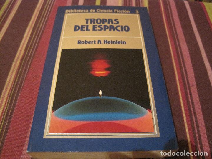 NOVELA TROPAS DEL ESPACIO ROBERT HEINLEIN ORBIS 3 CIENCIA FICCION (Libros de Segunda Mano (posteriores a 1936) - Literatura - Narrativa - Ciencia Ficción y Fantasía)