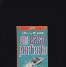 Libros de segunda mano: UN CASO PERFECTO - A. RIBERA & R. FARRIOLS - PLAZA & JANES 1976 / ILUSTRADO. Lote 210570407