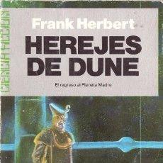 Libros de segunda mano: HEREJES DE DUNE. FRANK HERBERT. Lote 210600530