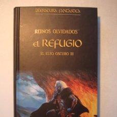 Libros de segunda mano: EL REFUGIO. EL ELFO OSCURO III - R.A. SALVATORE - PLANETA DEAGOSTINI 2005 LITERATURA FANTÁSTICA. Lote 210600535
