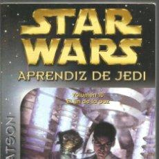 Libros de segunda mano: JUDE WATSON. STAR WARS. APRENDIZ DE JEDI. VOLUMEN 10 EL FIN DE LA PAZ. ALBERTO SANTOS EDITOR. Lote 221721720