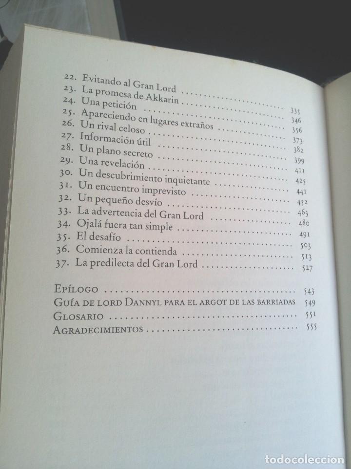 Libros de segunda mano: TRUDI CANAVAN - CRONICAS DEL MAGO NEGRO ( 3 LIBROS) - CIRCULO DE LECTORES 2011 - Foto 8 - 212479512