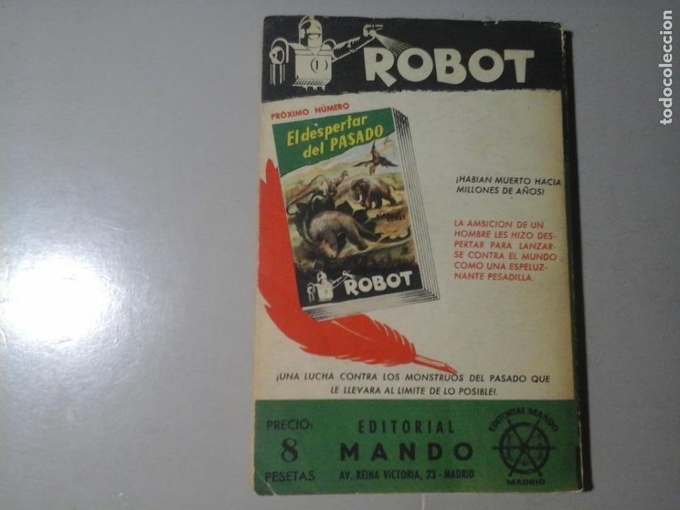 Libros de segunda mano: ALAN COMET. ROBOT DEL DR. FREUDING. ROBOT 6. ED. MANDO. (CA. 1955) CIENCIA FICCIÓN. RARO. - Foto 2 - 213441831