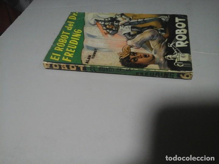 Libros de segunda mano: ALAN COMET. ROBOT DEL DR. FREUDING. ROBOT 6. ED. MANDO. (CA. 1955) CIENCIA FICCIÓN. RARO. - Foto 3 - 213441831