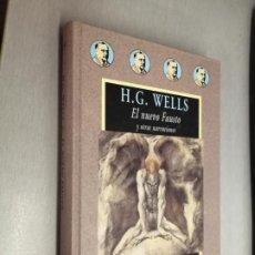 Libros de segunda mano: EL NUEVO FAUSTO Y OTRAS NARRACIONES / H. G. WELLS / AVATARES - VALDEMAR 1ª EDICIÓN 2002. Lote 214700695