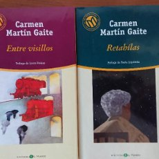 Libros de segunda mano: ENTRE VISILLOS – RETAHÍLAS - CARMEN MARTÍN GAITE. Lote 215249750