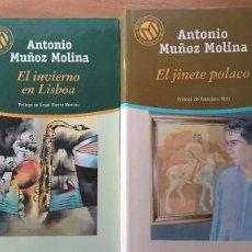 Libros de segunda mano: EL INVIERNO EN LISBOA - EL JINETE POLACO - ANTONIO MUÑOZ MOLINA – 2 LIBROS. Lote 215382068