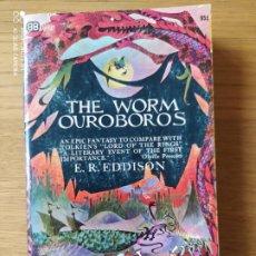 Libros de segunda mano: THE WORM OUROBOROS, E.R. EDDISON, ED. DUTTON, 1967. Lote 215509150