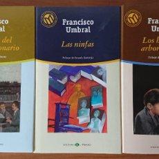 Libros de segunda mano: FRANCISCO UMBRAL – LA LEYENDDA DEL CESAR VISIONARIO; LAS NINFAS; LOS HELECHOS ARBORECENTES 3 LIBROS. Lote 215561173