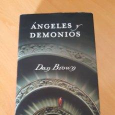 Libros de segunda mano: ANGELES Y DEMONIOS, DAN BRONW. Lote 216808890
