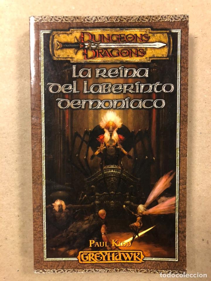 Libros de segunda mano: DUNGEONS & DRAGONS. PAUL KIDD. LOTE DE 3 LIBROS: LA REINA DEL LABERINTO DEMONÍACO, LA MONTAÑA DEL PE - Foto 2 - 216997242