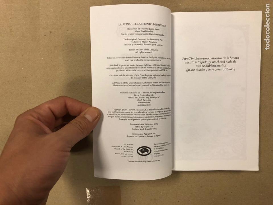 Libros de segunda mano: DUNGEONS & DRAGONS. PAUL KIDD. LOTE DE 3 LIBROS: LA REINA DEL LABERINTO DEMONÍACO, LA MONTAÑA DEL PE - Foto 4 - 216997242