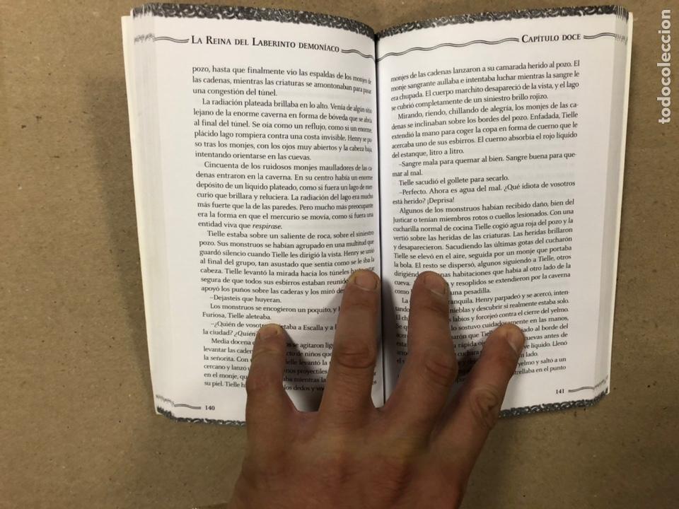 Libros de segunda mano: DUNGEONS & DRAGONS. PAUL KIDD. LOTE DE 3 LIBROS: LA REINA DEL LABERINTO DEMONÍACO, LA MONTAÑA DEL PE - Foto 5 - 216997242