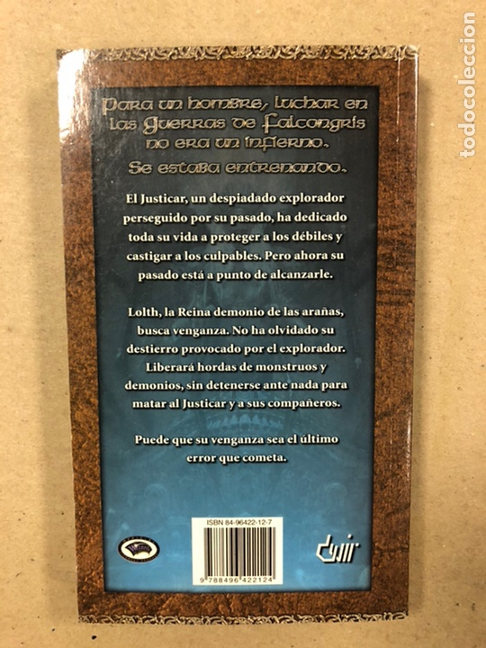 Libros de segunda mano: DUNGEONS & DRAGONS. PAUL KIDD. LOTE DE 3 LIBROS: LA REINA DEL LABERINTO DEMONÍACO, LA MONTAÑA DEL PE - Foto 6 - 216997242