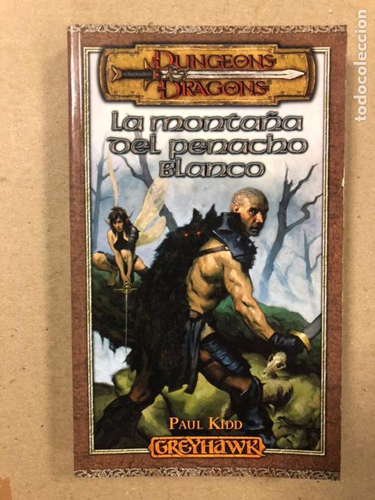 Libros de segunda mano: DUNGEONS & DRAGONS. PAUL KIDD. LOTE DE 3 LIBROS: LA REINA DEL LABERINTO DEMONÍACO, LA MONTAÑA DEL PE - Foto 7 - 216997242