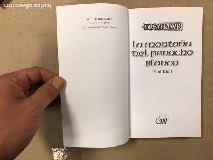 Libros de segunda mano: DUNGEONS & DRAGONS. PAUL KIDD. LOTE DE 3 LIBROS: LA REINA DEL LABERINTO DEMONÍACO, LA MONTAÑA DEL PE - Foto 8 - 216997242
