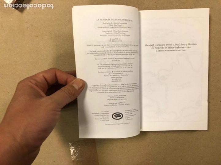 Libros de segunda mano: DUNGEONS & DRAGONS. PAUL KIDD. LOTE DE 3 LIBROS: LA REINA DEL LABERINTO DEMONÍACO, LA MONTAÑA DEL PE - Foto 9 - 216997242