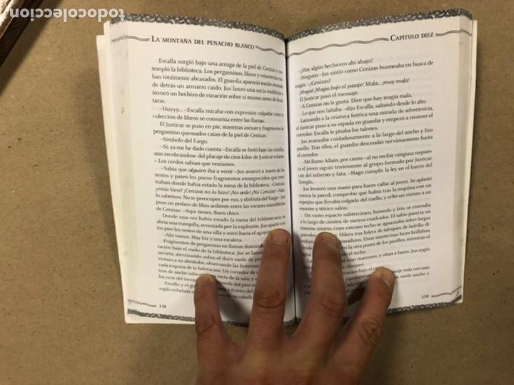 Libros de segunda mano: DUNGEONS & DRAGONS. PAUL KIDD. LOTE DE 3 LIBROS: LA REINA DEL LABERINTO DEMONÍACO, LA MONTAÑA DEL PE - Foto 10 - 216997242