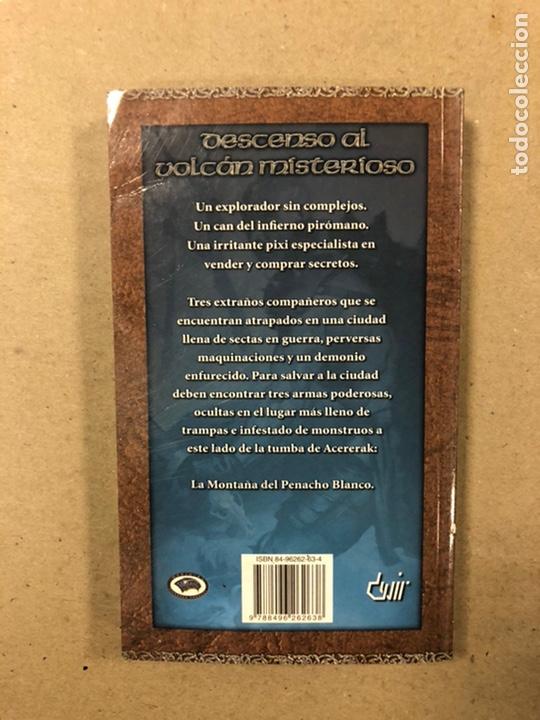 Libros de segunda mano: DUNGEONS & DRAGONS. PAUL KIDD. LOTE DE 3 LIBROS: LA REINA DEL LABERINTO DEMONÍACO, LA MONTAÑA DEL PE - Foto 11 - 216997242