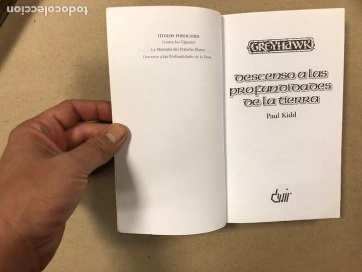 Libros de segunda mano: DUNGEONS & DRAGONS. PAUL KIDD. LOTE DE 3 LIBROS: LA REINA DEL LABERINTO DEMONÍACO, LA MONTAÑA DEL PE - Foto 13 - 216997242