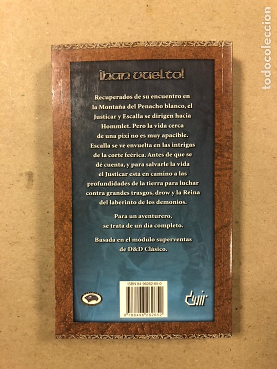 Libros de segunda mano: DUNGEONS & DRAGONS. PAUL KIDD. LOTE DE 3 LIBROS: LA REINA DEL LABERINTO DEMONÍACO, LA MONTAÑA DEL PE - Foto 15 - 216997242