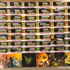 Libros de segunda mano: LOTE DE 48 NOVELAS COLECCIÓN LA CONQUISTA DEL ESPACIO (EDITORIAL BRUGUERA 1978 - 1983).. Lote 217006982