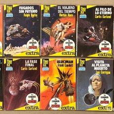 Libros de segunda mano: LOTE DE 10 NOVELAS COLECCIÓN LA CONQUISTA DEL ESPACIO EXTRA (EDITORIAL BRUGUERA 1983).. Lote 217009437