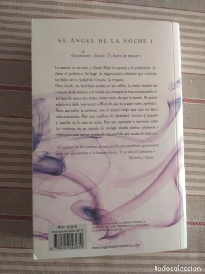 Libros de segunda mano: el angel de la noche I. el camino de las sombras de brent weeks - Foto 2 - 217924033
