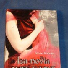 Libros de segunda mano: LA NOVIA MALDITA - NINA BLAZON - EDEBE FANTASY. Lote 218203012