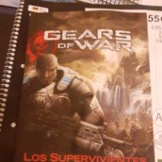 Libros de segunda mano: LIBRO GEARS OF WAR LOS SUPERVIVIENTES. Lote 218255692