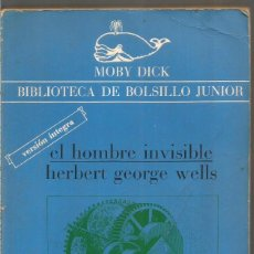Libros de segunda mano: H.G. WELLS. EL HOMBRE INVISIBLE. LA GAYA CIENCIA. Lote 218420792