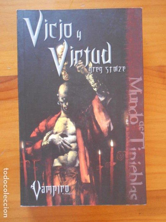VICIO Y VIRTUD - VAMPIRO - EL REQUIEM Nº III - Nº 3 - GREG STOLZE - LA FACTORIA DE IDEAS (C2) (Libros de Segunda Mano (posteriores a 1936) - Literatura - Narrativa - Ciencia Ficción y Fantasía)