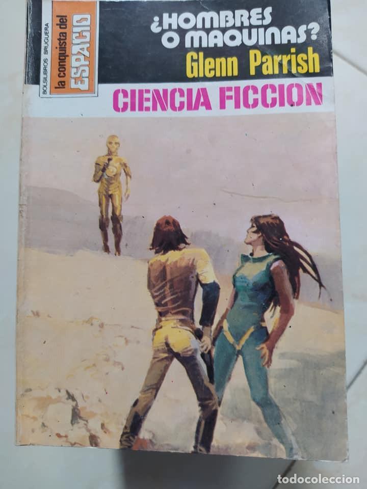 """NOVELAS CIENCIA FICCION LA CONQUISTA DEL ESPACIO 438 """"¿HOMBRES O MAQUINAS?"""" GLENN PARRISH (Libros de Segunda Mano (posteriores a 1936) - Literatura - Narrativa - Ciencia Ficción y Fantasía)"""