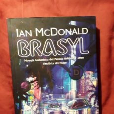 Libros de segunda mano: BRASYL, DE IAN MCDONALD. MAGNÍFICO ESTADO. UNICO EN TC, RARO. FACTORÍA DE IDEAS. Lote 219339856