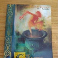 Libri di seconda mano: EL CALDERO NEGRO - CRÓNICAS DE PRYDAIN 2 (LLOYD ALEXANDER). Lote 219654275
