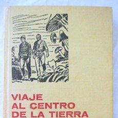 Libros de segunda mano: LIBRO VIAJE AL CENTRO DE LA TIERRA, JULIO VERNE, BRUGUERA, 1972, COLECCION HISTORIAS SELECCION. Lote 219890295