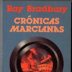 Libros de segunda mano: RAY BRADBURY : CRÓNICAS MARCIANAS (MINOTAURO, 1996) PRÓLOGO DE BORGES. Lote 221324747