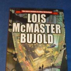 Libros de segunda mano: CRIOPOLIS (MILES VORKOSIGAN) - LOIS MCMASTER BUJOLD - EDICIONES B NOVA ESTADO IMPECABLE. Lote 221542123