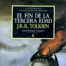 Libros de segunda mano: EL FIN DE LA TERCERA EDAD. JRR TOLKIEN. CHRISTOPHER TOLKIEN. 4. ED. MINOTAURO. PRIMERA EDICIÓN. Lote 221722511