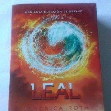 Libros de segunda mano: LEAL .VERÓNICA ROTH ( RBA ). Lote 222079711