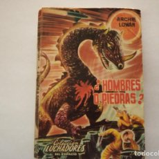 Libros de segunda mano: ¿HOMBRES O PIEDRAS - ARCHIE LOWAN. Lote 222087786
